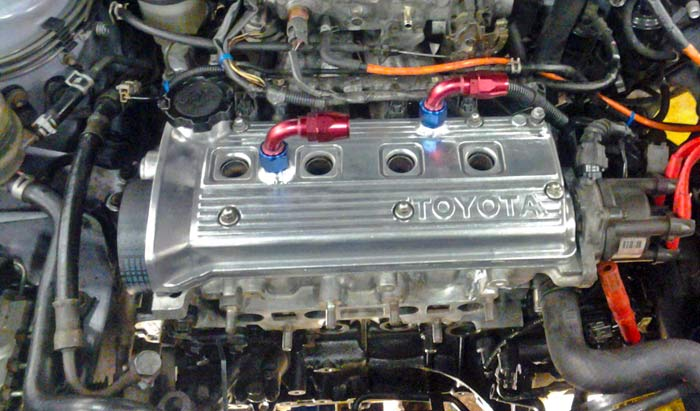 Toyota Engine Repaired by SRC Mechanics